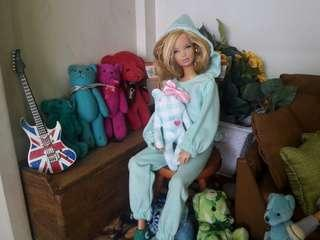Jumpsuit for Barbie doll