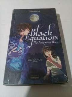 Black Equation: The Forgotten Ones by Natsuri Ayuko