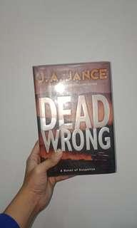 PRE-LOVED BOOKS: Dead Wrong