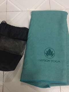 瑜珈毯(膠粒底)yoga blanket