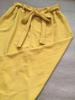 Mustard Culottes