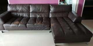 Genuine leather,Sofa,full leather, HTL,lorenzo,rustica,rozel