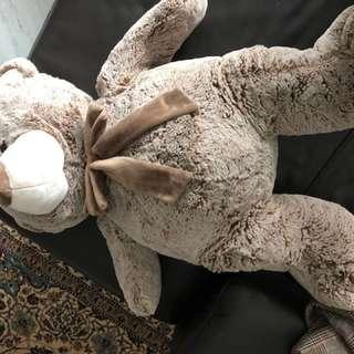 82CM HIGH QUALITY FRENCH Super soft velboa plush bear