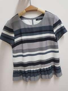 G2000 strip blouse