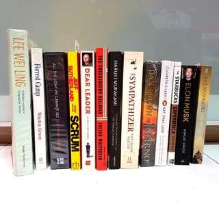 Books for Sale! [Fiction / Non-Fiction]
