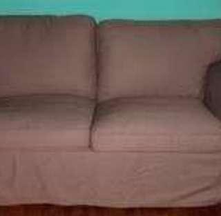 Ektorp 2 seater cover only - brown