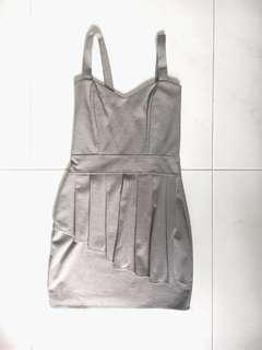 🚚 Grey Bodycon Dress (PRICE REDUCED)