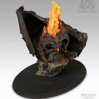 Lord of The Rings Balrog Statue & Ring Wraith Bust