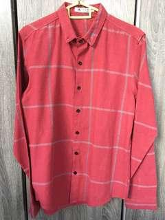 Red long sleeve shirt CNY