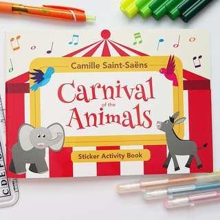 Children Music Appreciation Book - Carnival of the Animals