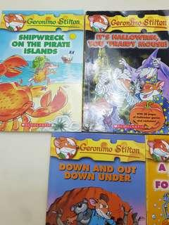 🚚 Geronimo Stilton storybooks