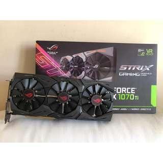 Asus ROG Strix GTX 1070Ti 8GB / GTX 1070 Ti