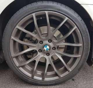 "Breyton Race GTS 20"" with tyres for BMW 5-Series F10"