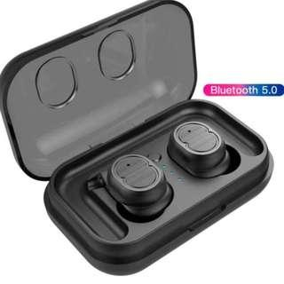 🚚 [BNIB] Wireless Earbuds Bluetooth V5.0 Earphones Build-in Microphone Smart Touch Control Earphones IPX5 Waterproof 4 Hours Continuous Music Play time HiFi Stereo Sound
