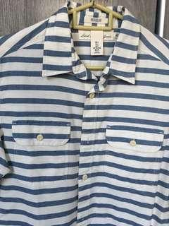 H&M short sleeve causal top nautical