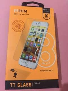 5 LAYER CONSTRUCTION TEMPERED GLASS IPHONE 8/7