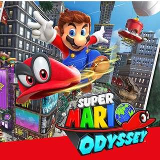 Nintendo Switch Super Mario Odyssey Mint Condition Fun to Play