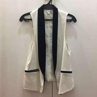 Forever21 limited edition tuxedo vest