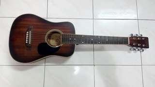 TGM small traveller Semi Acoustic guitar