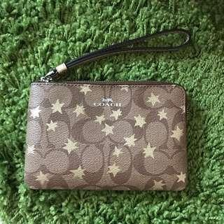 Coach Wristlet w/Pop Star Print NWT