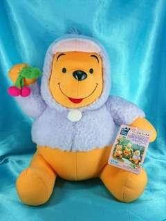 Disney Sega Fun Fan Amuse Winnie the Pooh 小熊維尼 絕版 日本景品 扮鴨 造型 大公仔 2003