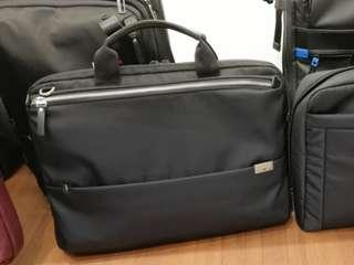 Samsonite Red Aurice slim briefcase black