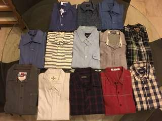 Male shirts sale!!