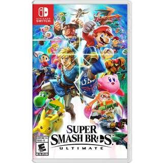Nintendo Switch Super Smash Bros Ultimate World Of Light Mint Condition Fun To Play