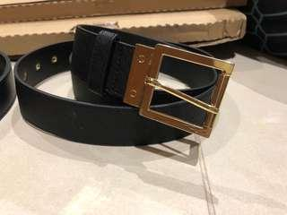Black womens belt