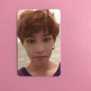 NCT127 TAEIL CHERRY BOMB OFFICIAL PHOTOCARD