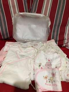 初生嬰兒服/包布/襪