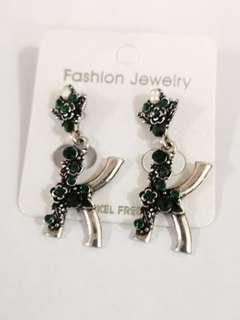 Alphabet earring
