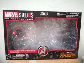 SUPER SALE! Hasbro Marvel Legends Marvel Studios First Ten Years Avengers Infinity War Packaging Box 10 for SALE!