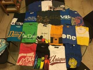Tee shirts SALE casual ! Preloved!