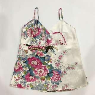🚚 Floral Spag Top