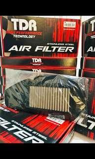 TDR racing lifetime reuseable air filter for Yamaha NVX155
