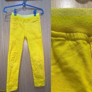 Long Pants Yellow Amberish