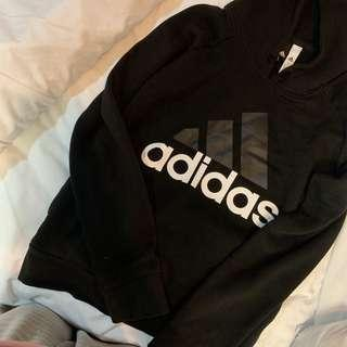 Adidas Black Jumper Size Medium