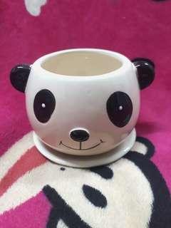 Panda Tea Cup/Holder