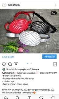WAIST BAG/ SLING BAG / TAS PINGGANG CEWEK KEKINIAN