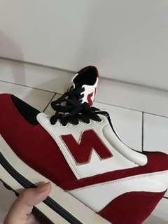 """Vintage red """"N"""" shoe"""