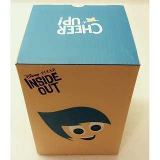 100% 全新 限量 Disney 迪士尼 玩轉腦朋友 Inside Out 瓷杯連匙羹 Coffee Tea Mug