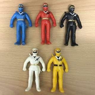 Mmpr power rangers sofubi ninjor ninja kakurangers vintage toys alien rangers