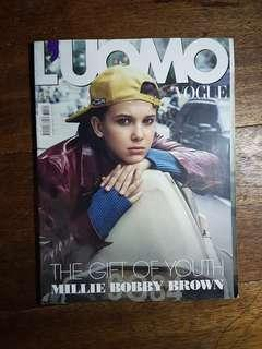 Millie Bobby Brown - L'uomo Vogue