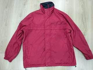 Jacket - red and black