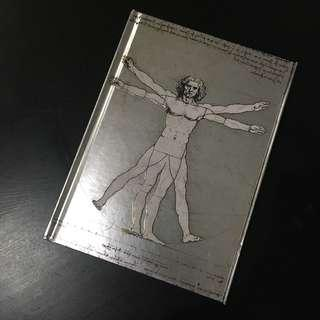 Vitruvian Man (by Leonardo Da Vinci) Notebook