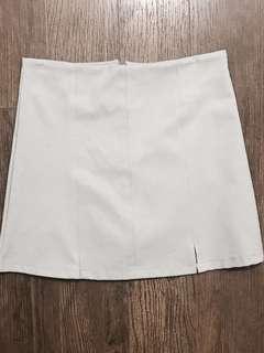 Pale Blue Skirt Korean