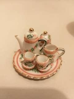 迷你茶具模型