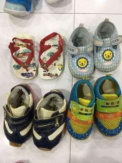 Baby Shoes blessing them, kept in storage for a while, all used