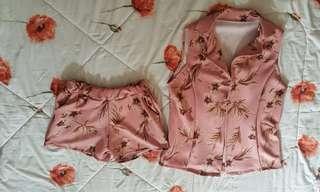 Shorts and vest coordinates